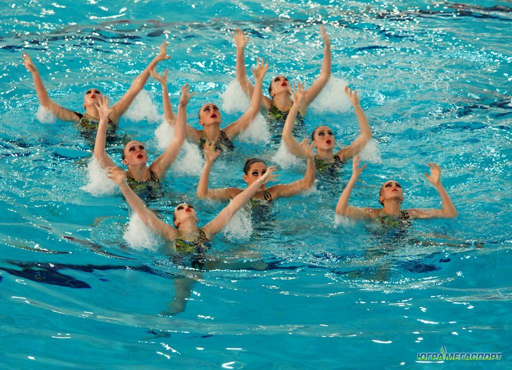 Чемпионат Югры по синхронному плаванию стартовал в Ханты-Мансийске
