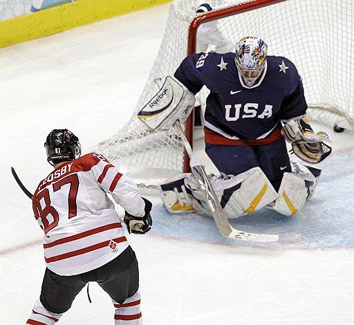 Противостояние США против Канады в хоккее