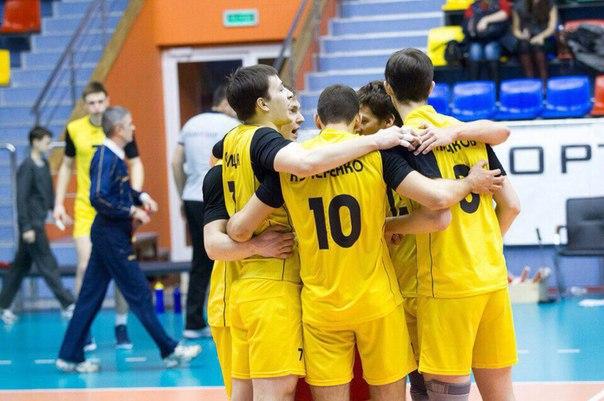 волейболисты Университета Нижневартовск