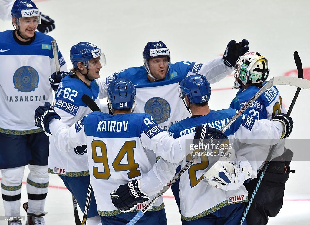 сборная Казахстана по хоккею.