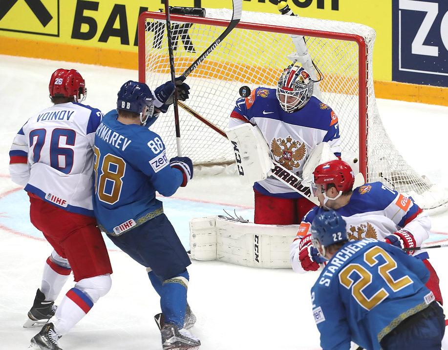 Бобровский пропустил 4 шайбы, но наше нападение смогло ответить на это 6 голами.Бобровский