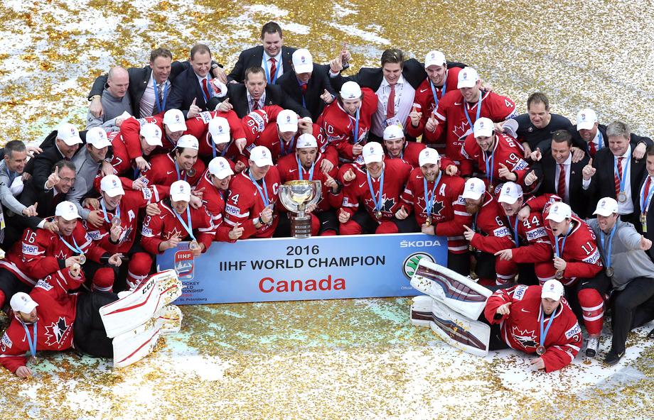 Сборная Канады - чемпиона мира по хоккею 2016 года