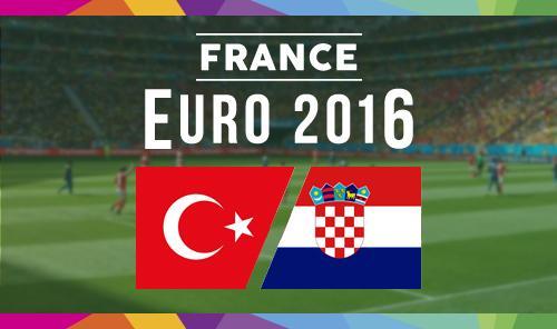 Турция – Хорватия 12 июня