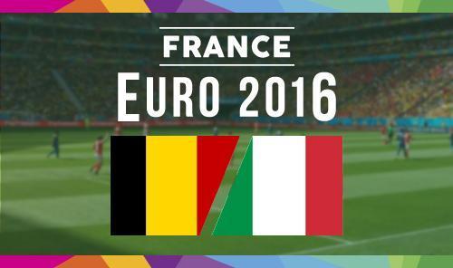 Бельгия – Италия 13 июня