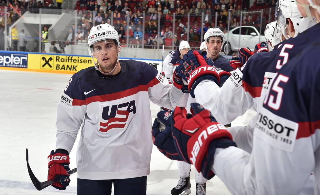 Сборная США постарается показать зрелищный хоккей.
