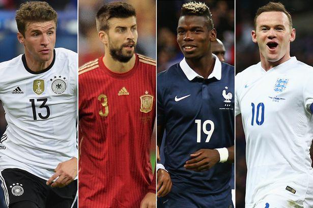 Лучшие игроки евро 2016