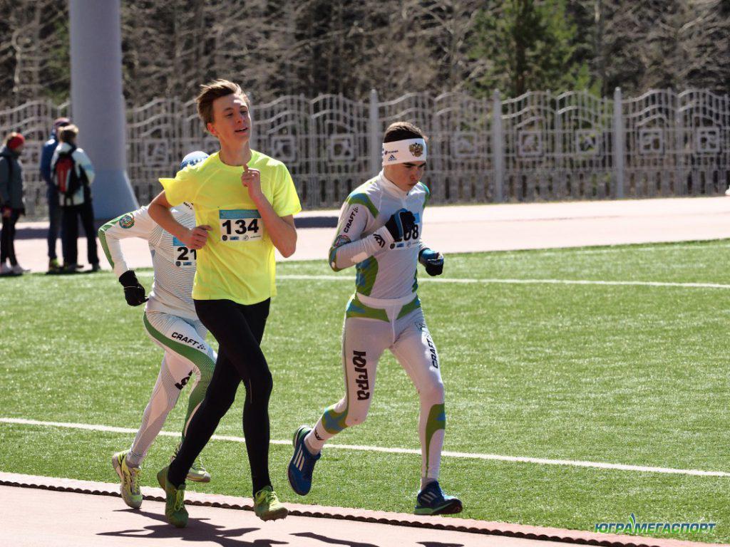 Легкая атлетика в ХМАО