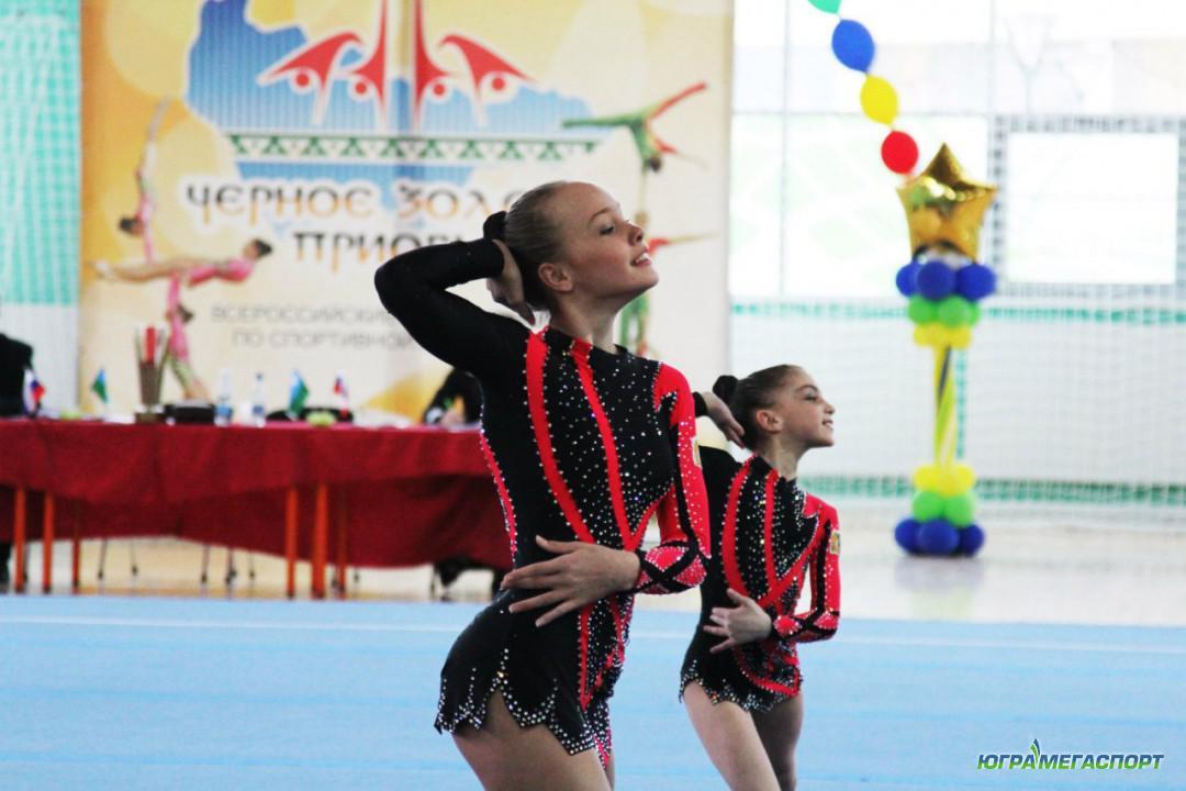 девушки из спортивной акробатики