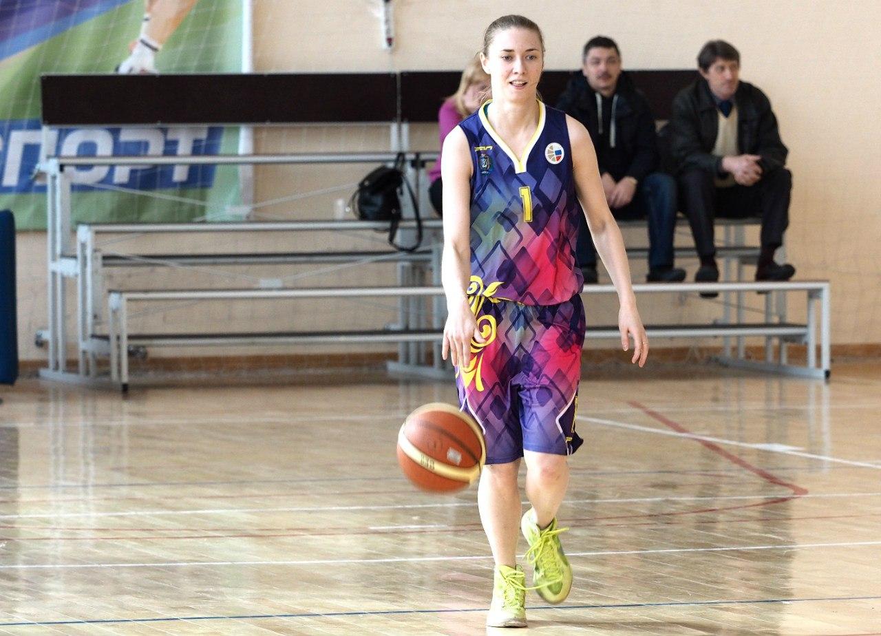 баскетболистка из команды Югорска