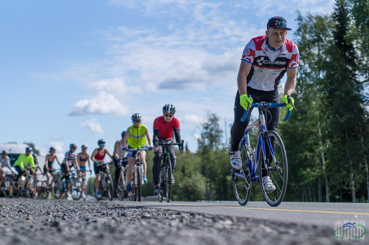Велосипедисты ХМАО