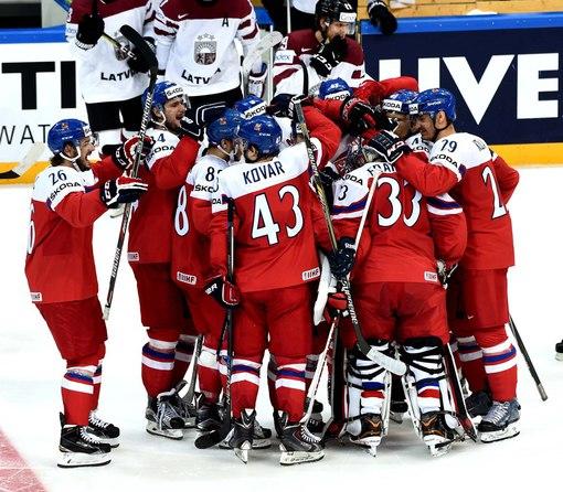 Сборная Чехии - Дания хоккей на чемпионате мира 2016