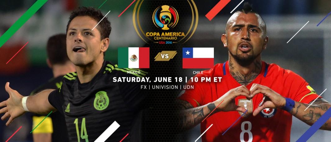 Мексика Чили Кубок Америки 2016