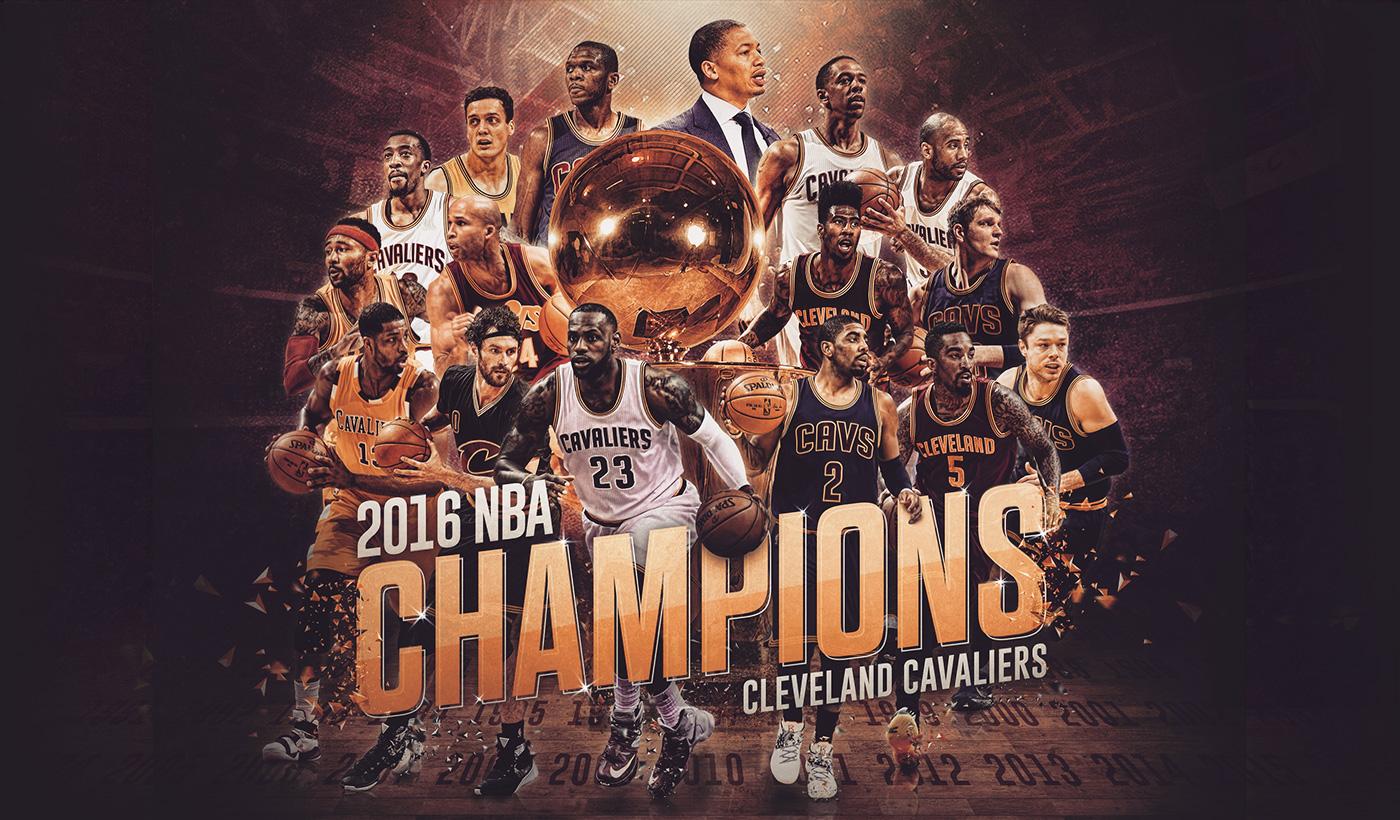 Кливленд Кавальерс - чемпионы НБА 2016.