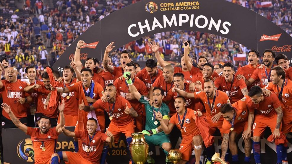 Чили победитель Кубка Америки 2016