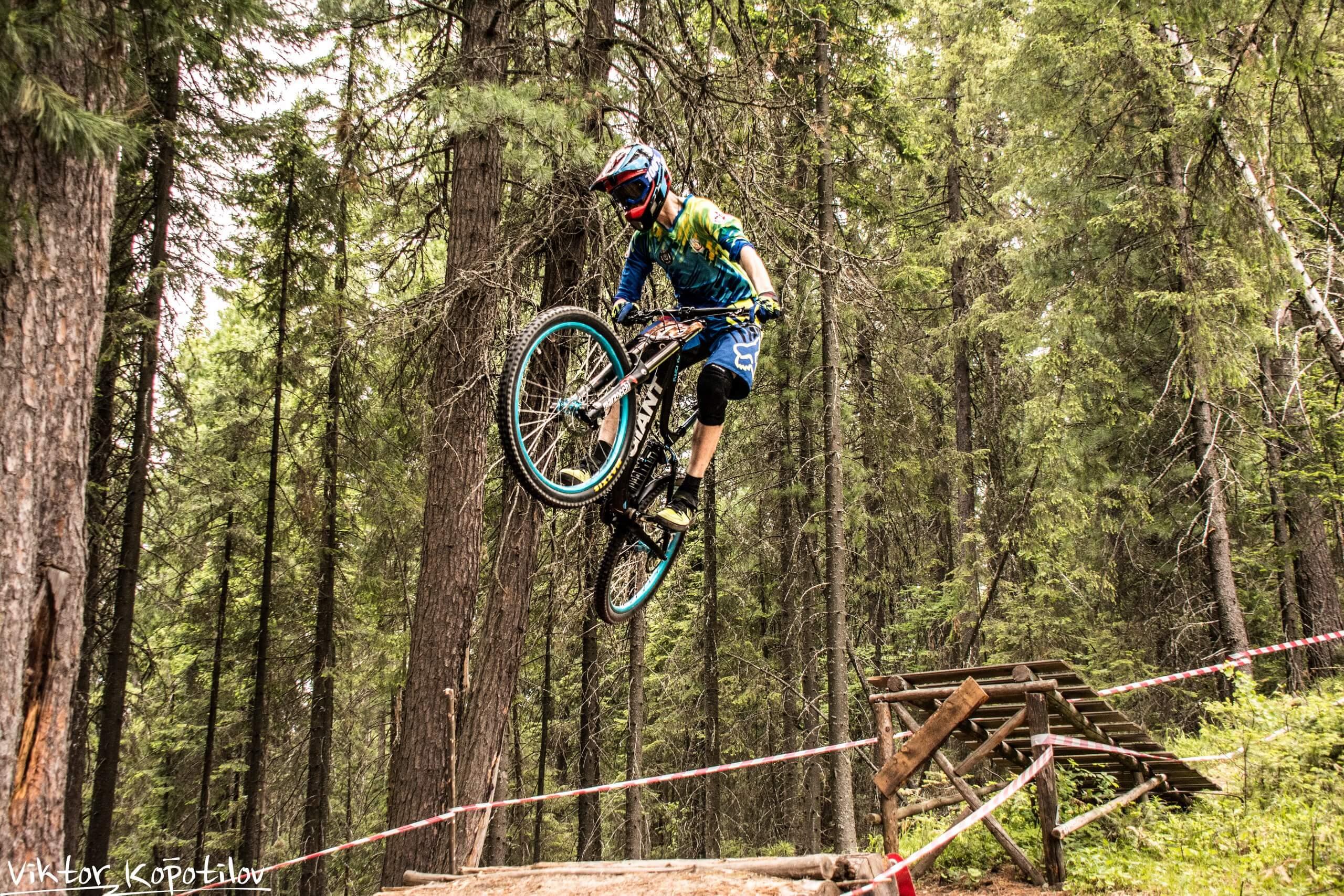 скоростной спуск на велосипедах ХМАО-Югра