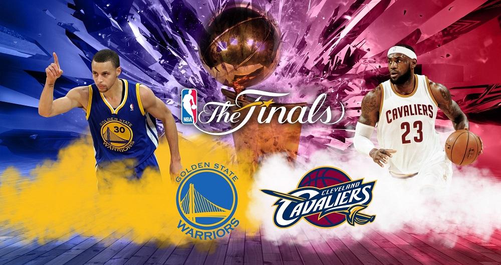 Голден Стэйт Уорриорз - Кливленд Кавальерс финал НБА 2016