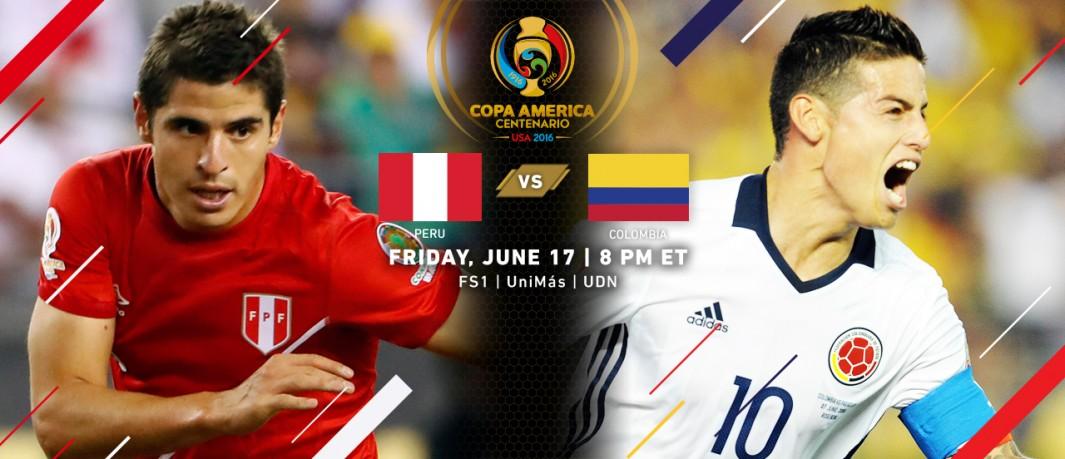 Перу - Колумбия Кубок Америки 2016