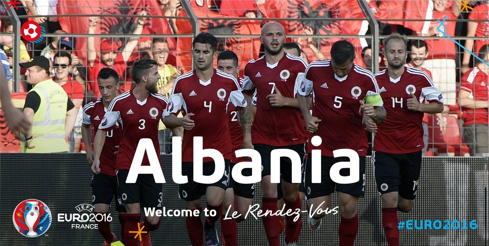 Сборная Албании на Евро 2016