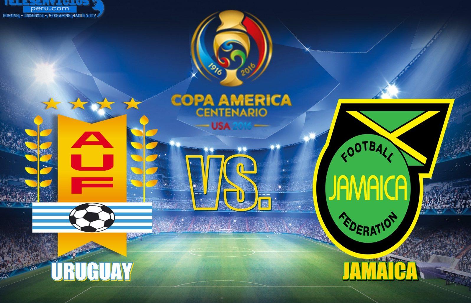 Уругвай - Ямайка кубок америки 2016