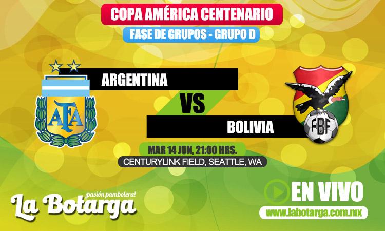 Аргентина - Боливия кубок америки 2016
