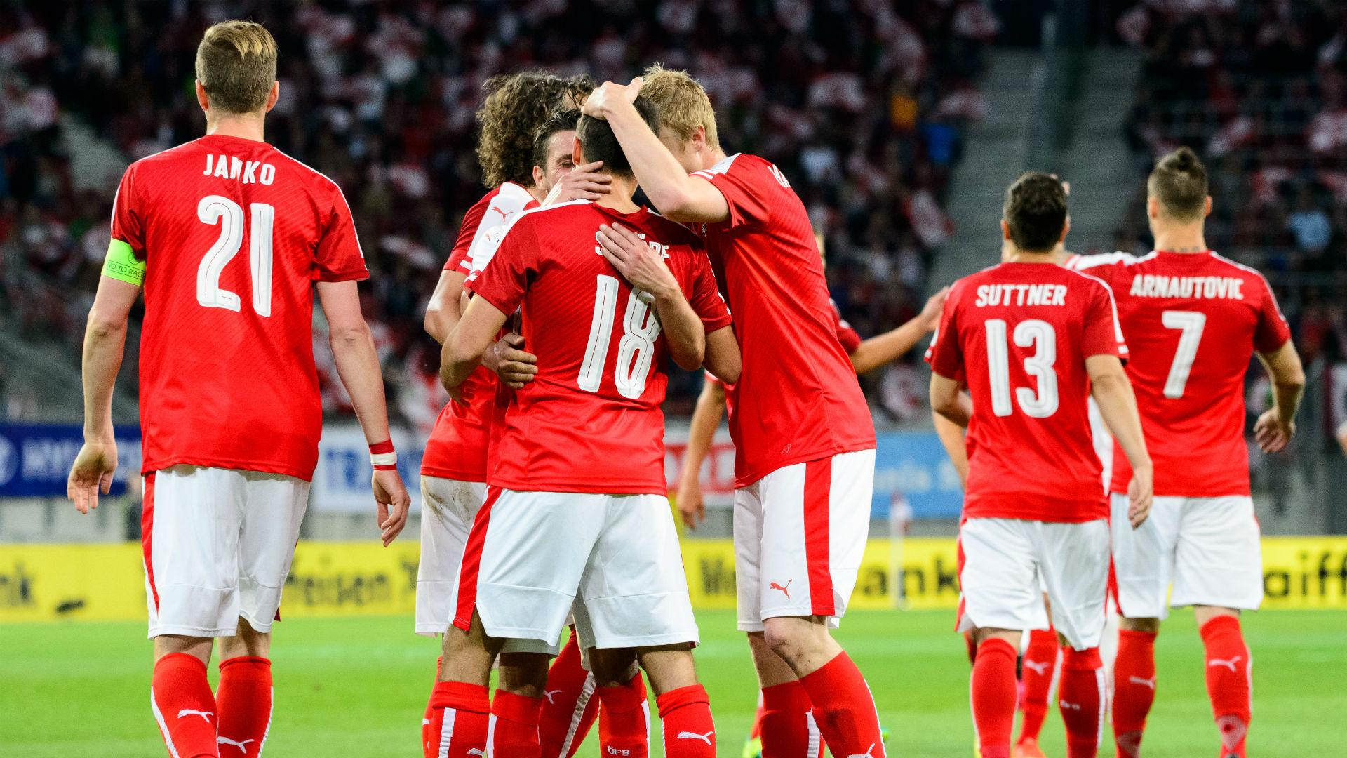 Сборная Австрии на ЕВРО-2016
