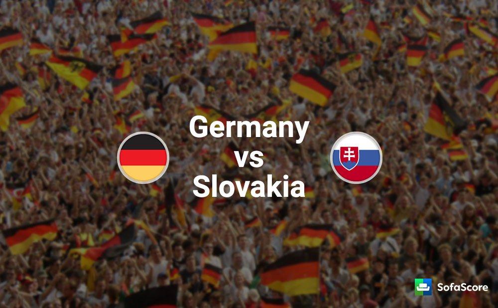 Германия - Словакия Евро 2016