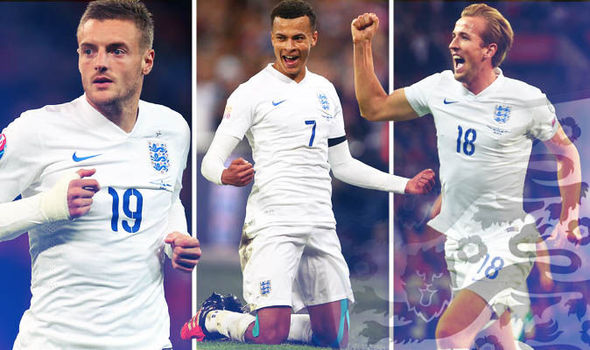 Сборная Англии по футболу - 2016
