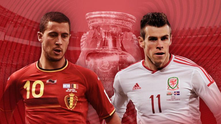 В матче Уэльс - Бельгия большая ответственность ляжет на лидеров команды: Гарета Бэйла и Эдена Азара.