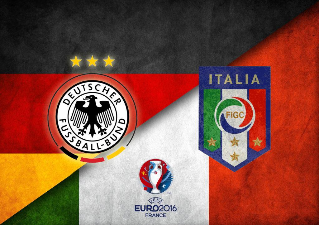 Германия - Италия евро 2016