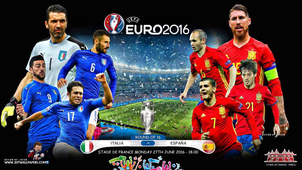 Италия - Испания ЕВРО-2016