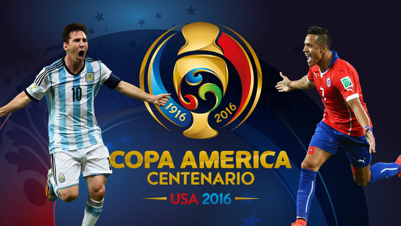 Финальный матч Аргентина-Чили 2016