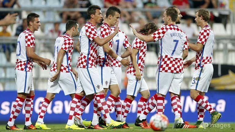 сборная Хорватии на ЕВРО 2016