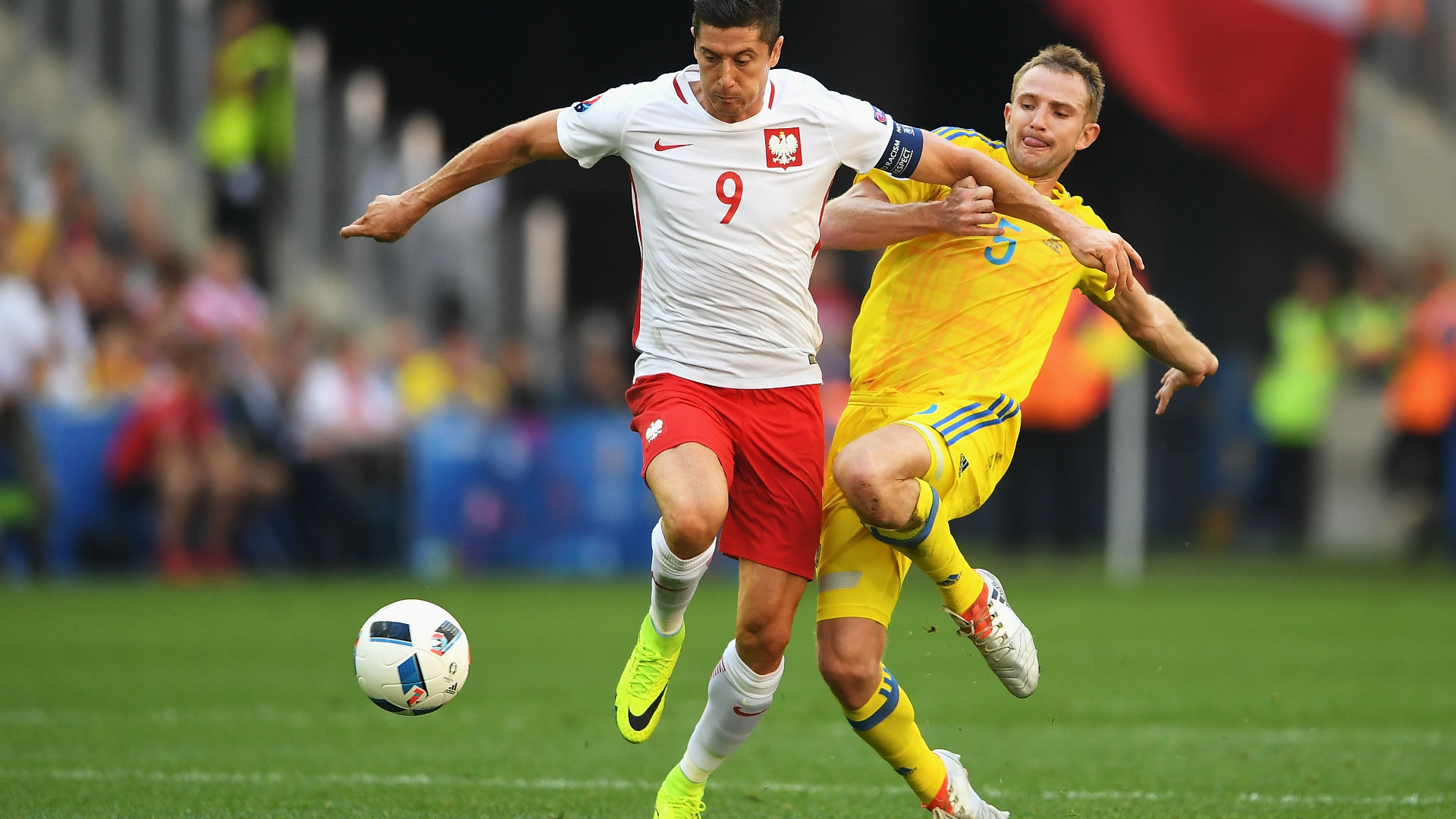 Польша - Роберт Левандовски ЕВРО-2016