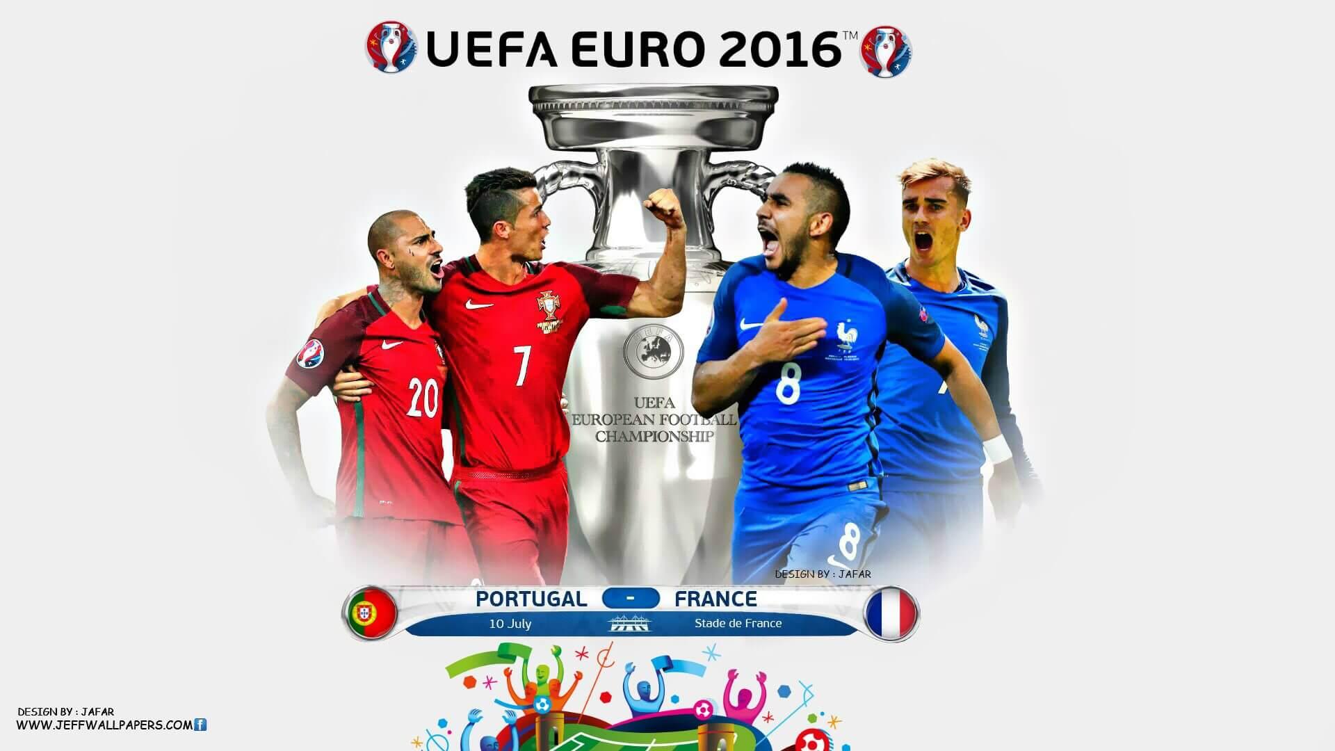 Финал чемпионата Европы по футболу 2016 года Франция - Португалия