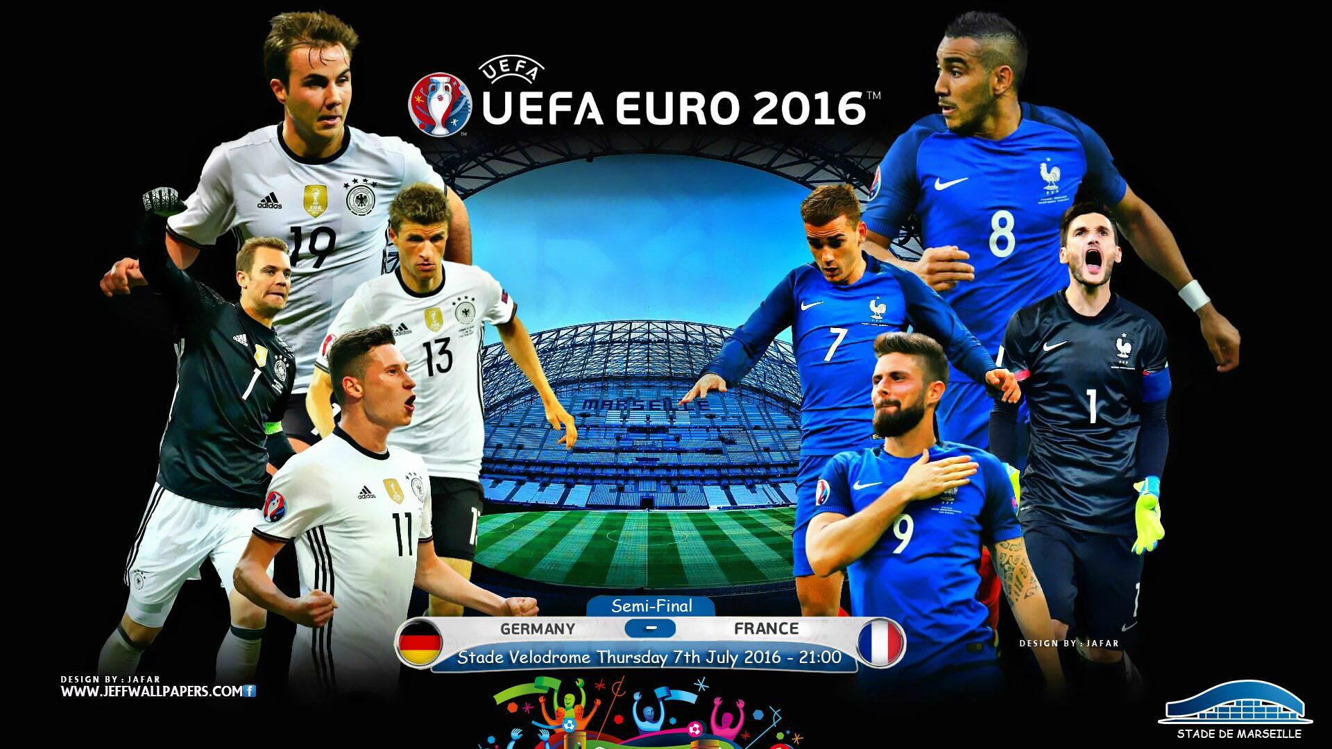 Матч 1/2 финала чемпионата Европы по футболу между сборными Германии и Франции станет событием в футбольной жизни всего мира.