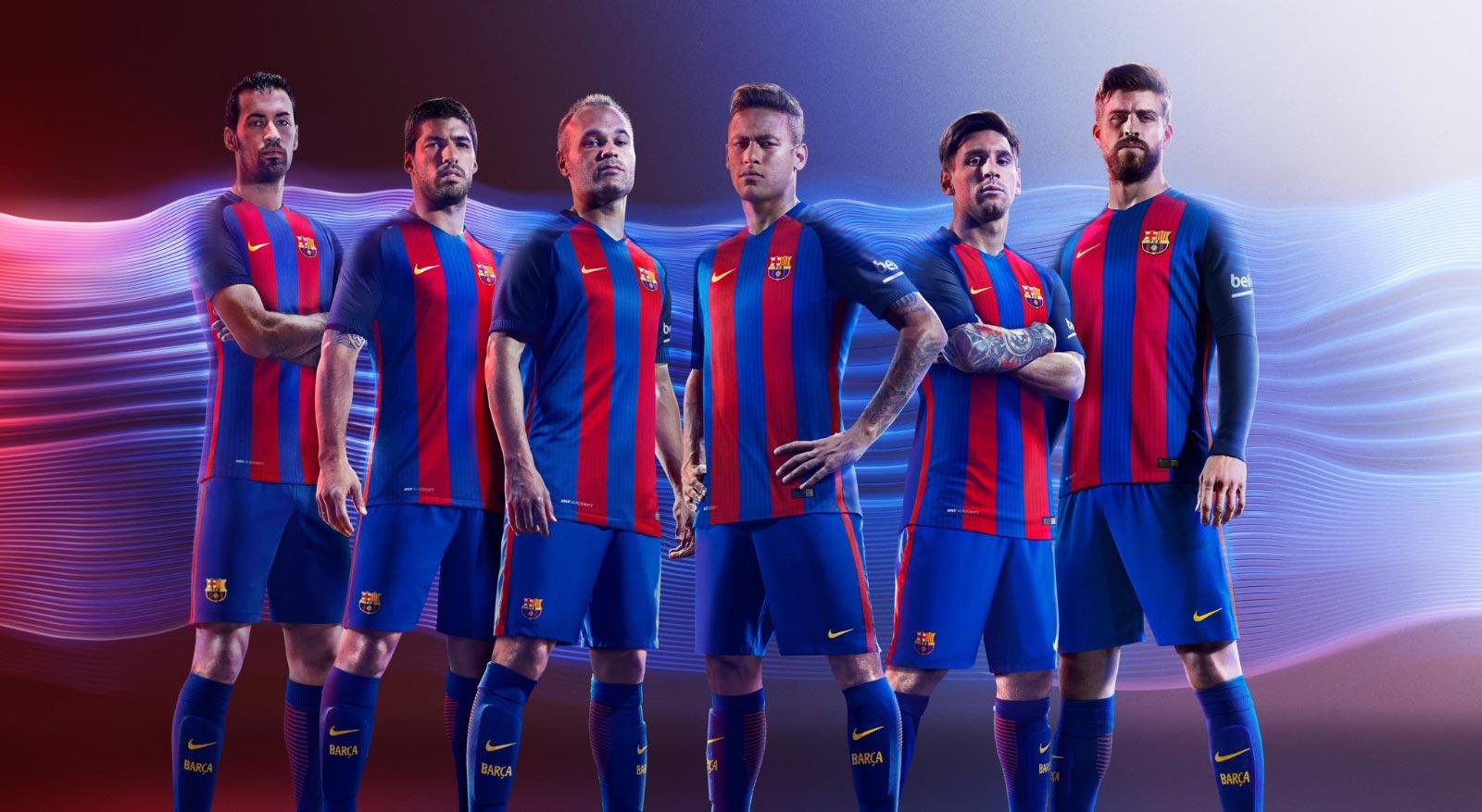 Барселона в сезоне 2016 и 2017 годов