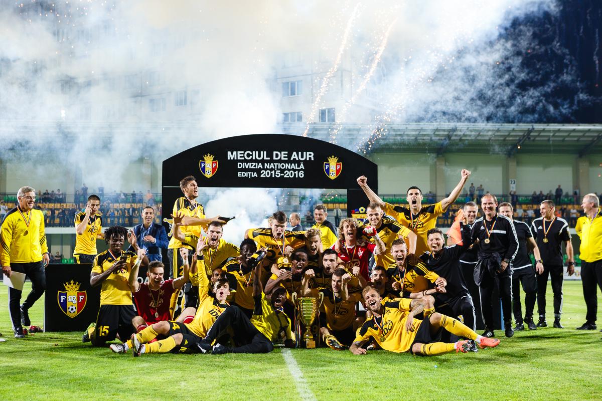 Шериф чемпион Молдавии по футболу