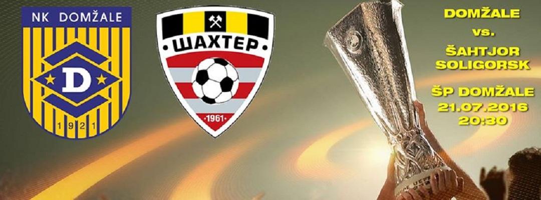 Домжале - Шахтер Солигорск афиша матча 21 июля 2016 года