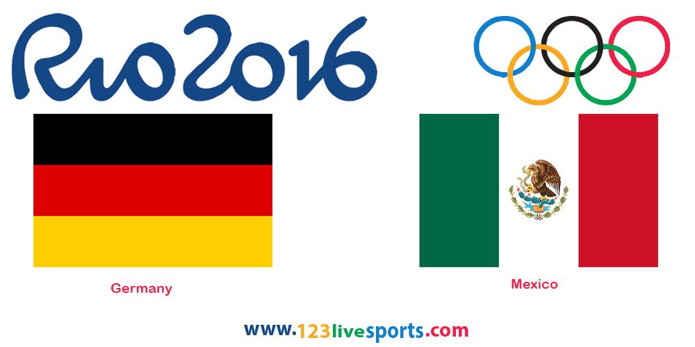 Германия-Мексика 4 августа 2016 года