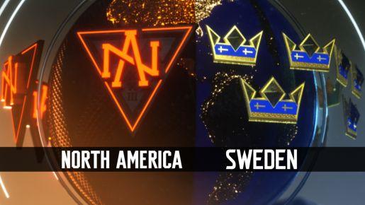 Швеция - Северная Америка 21 сентября 2016 года