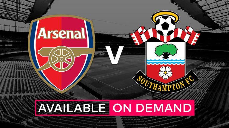 Арсенал - Саутгемптон 10 сентября 2016