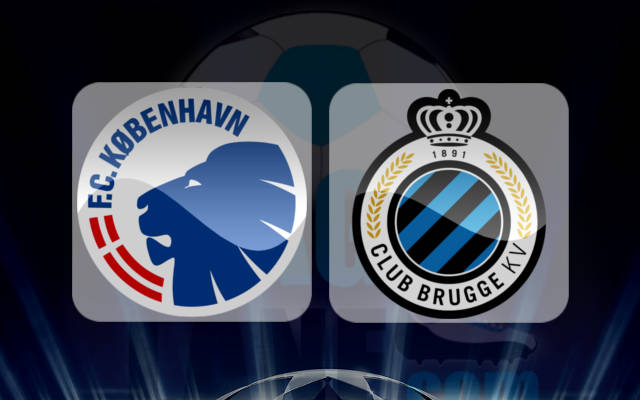 ФК Копенгаген - Брюгге 27 Сентября 2016 года