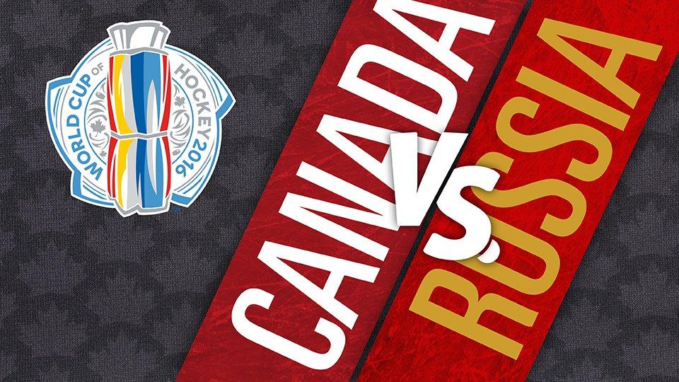 Канада - Россия 25 Сентября 2016 года