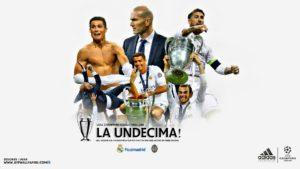 Звезды Реала Мадрид и тренер Зинедин Зидан