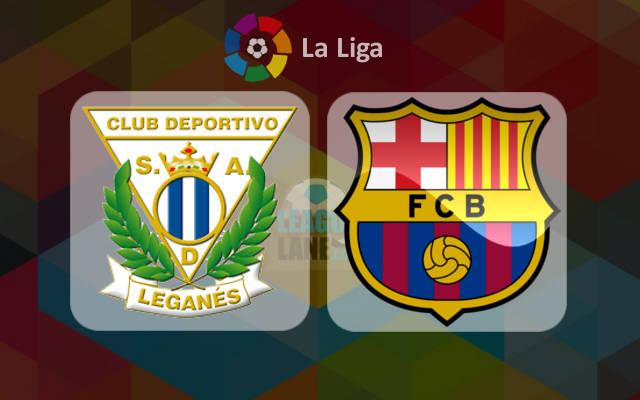 Леганес - Барселона 17 сентября 2016 года