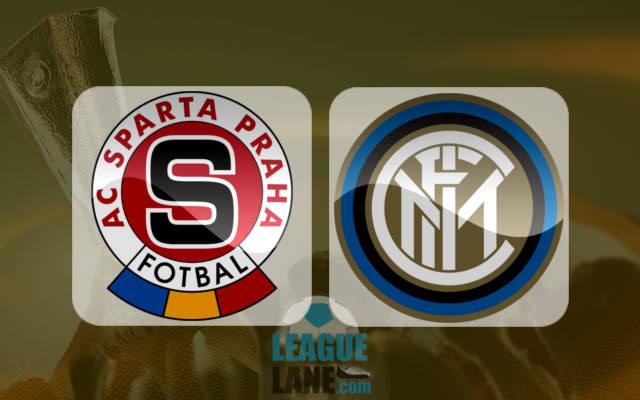 Спарта Прага - Интер Милан 29 сентября 2016 года