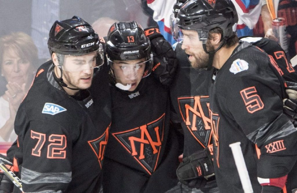 Форма сборной Северной Америки по хоккею на Кубке Мира