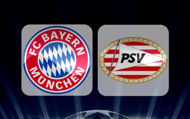 Бавария - ПСВ Эйндховен 19 октября 2016 года