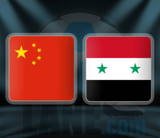 Китай - Сирия 6 октября 2016 года
