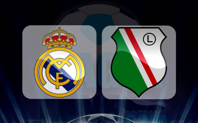 Реал Мадрид - Легия Варшава 18 октября 2016 года